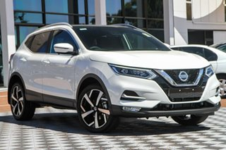 2020 Nissan Qashqai J11 Series 3 MY20 Ti X-tronic Ivory Pearl 1 Speed Constant Variable Wagon.