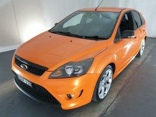 2010 Ford Focus LV XR5 Turbo Orange 6 Speed Manual Hatchback.