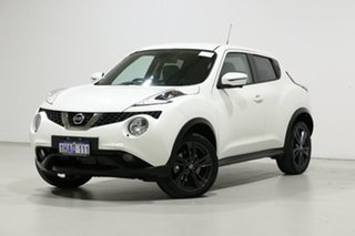2020 Nissan Juke F15 MY18 TI-S (FWD) (5Yr) White 6 Speed Manual Wagon.