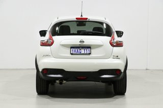 2020 Nissan Juke F15 MY18 TI-S (FWD) (5Yr) White 6 Speed Manual Wagon