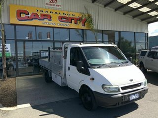 2005 Ford Transit VJ White 6 Speed Manual Single Cab Cab Chassis.