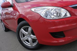 2009 Hyundai i30 FD MY09 SX Shine Red 5 Speed Manual Hatchback