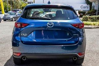 2020 Mazda CX-5 KF4WLA Maxx SKYACTIV-Drive i-ACTIV AWD Sport Blue 6 Speed Sports Automatic Wagon.