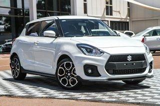 2020 Suzuki Swift AZ Series II Sport Pure White 6 Speed Manual Hatchback.