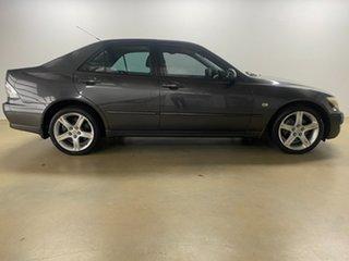 2003 Lexus IS200 GXE10R Sports Luxury Grey 4 Speed Automatic Sedan.