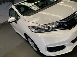 2018 Honda Jazz GF MY18 VTi White Orchid 1 Speed Constant Variable Hatchback