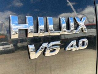 2006 Toyota Hilux GGN25R MY05 SR5 Black 5 Speed Manual Utility