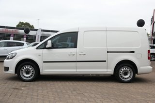 2015 Volkswagen Caddy 2KN MY15 TDI250 BlueMOTION Maxi DSG White 7 Speed Sports Automatic Dual Clutch