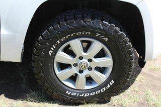 2012 Volkswagen Amarok 2H MY13 TDI400 4Mot Trendline White 6 Speed Manual Utility