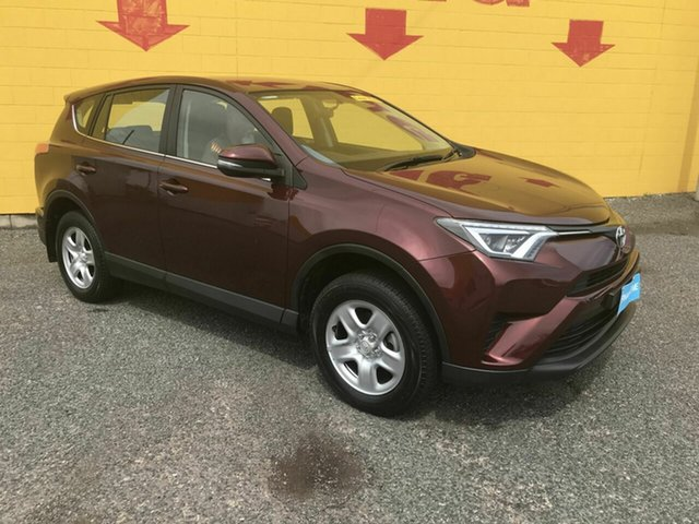 Used Toyota RAV4 ASA44R GX AWD Winnellie, 2015 Toyota RAV4 ASA44R GX AWD Maroon 6 Speed Sports Automatic Wagon