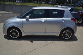 2010 Suzuki Swift RS415 Silver 5 Speed Manual Hatchback