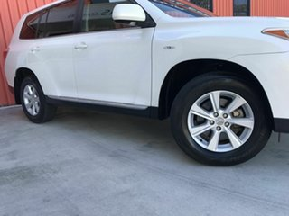 2012 Toyota Kluger GSU40R MY12 KX-R 2WD White 5 Speed Sports Automatic Wagon