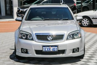 2010 Holden Caprice WM MY10 Silver 6 Speed Sports Automatic Sedan