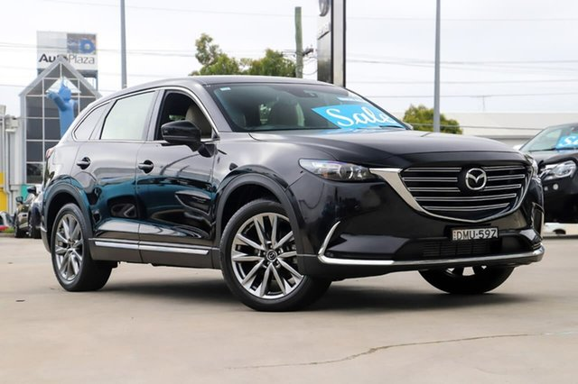 Used Mazda CX-9 TC GT SKYACTIV-Drive Kirrawee, 2017 Mazda CX-9 TC GT SKYACTIV-Drive Black 6 Speed Sports Automatic Wagon