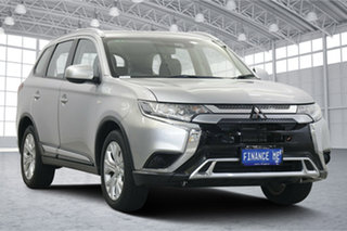 2019 Mitsubishi Outlander ZL MY19 ES 2WD Sterling Silver 6 Speed Constant Variable Wagon.