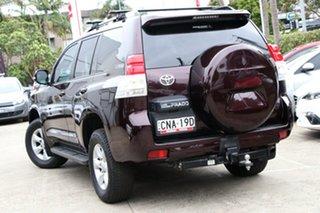 2013 Toyota Landcruiser Prado GRJ150R 11 Upgrade GXL (4x4) Dark Furnace 5 Speed Sequential Auto.