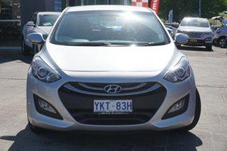 2014 Hyundai i30 GD2 MY14 Trophy Sleek Silver 6 Speed Sports Automatic Hatchback.