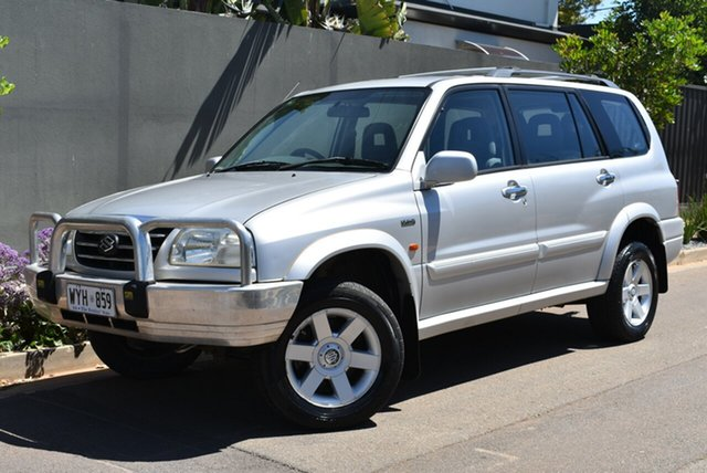 Used Suzuki XL-7 JA Brighton, 2001 Suzuki XL-7 JA Silver 5 Speed Manual Wagon