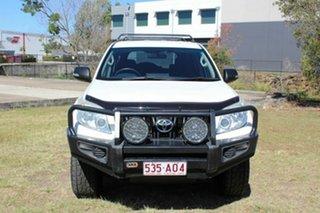 2012 Toyota Landcruiser Prado KDJ150R GX White 5 Speed Sports Automatic Wagon.