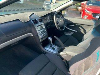 2007 Ford Falcon BF Mk II XR6 Ute Super Cab Green 4 Speed Sports Automatic Utility