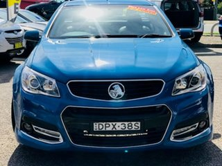 2014 Holden Ute VF MY14 SS Ute Storm Blue 6 Speed Sports Automatic Utility