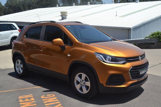 Used Holden Trax TJ MY18 LS Maitland, 2018 Holden Trax TJ MY18 LS Orange 6 Speed Automatic Wagon