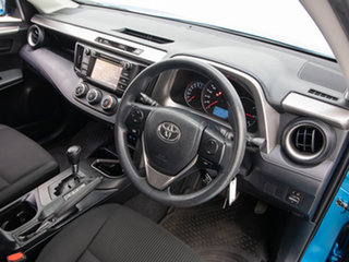 2017 Toyota RAV4 ZSA42R MY17 GX (2WD) Blue Continuous Variable Wagon