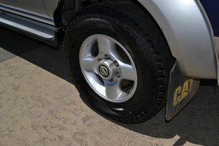 2009 Nissan Navara D22 MY08 ST-R (4x4) Blue 5 Speed Manual Dual Cab Pick-up