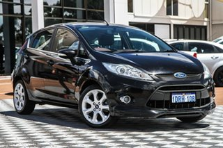 2010 Ford Fiesta WS Zetec Black 4 Speed Automatic Hatchback.
