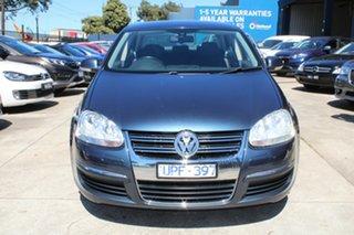 2007 Volkswagen Jetta 1KM MY08 Upgrade 2.0 FSI Grey & Blue 6 Speed Tiptronic Sedan.