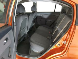 2009 Kia Rio JB MY09 LX Orange 5 Speed Manual Hatchback