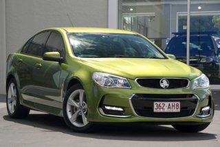 2016 Holden Commodore VF II MY16 SV6 Green 6 Speed Sports Automatic Sedan.