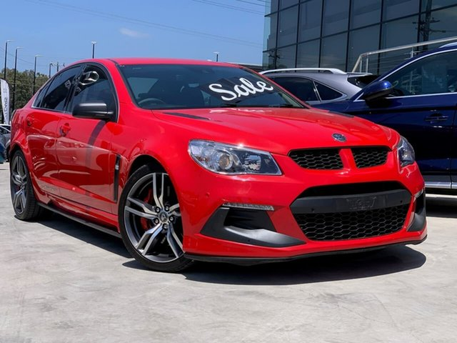 Used Holden Special Vehicles ClubSport Gen-F2 MY16 R8 LSA Liverpool, 2016 Holden Special Vehicles ClubSport Gen-F2 MY16 R8 LSA Red 6 Speed Sports Automatic Sedan