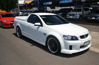 2007 Holden Commodore VE SS White 6 Speed Automatic Utility.