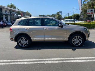 2017 Volkswagen Touareg 7P MY17 V6 TDI Tiptronic 4MOTION Adventure Gold 8 Speed Sports Automatic