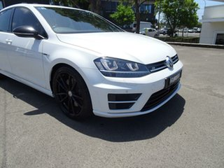 2015 Volkswagen Golf VII MY16 R DSG 4MOTION Wolfsburg Edition Oryx White Pearl 6 Speed