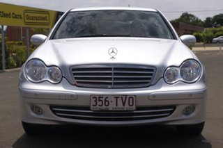 2005 Mercedes-Benz C-Class W203 MY2006 C180 Kompressor Classic Silver 5 Speed Automatic Sedan