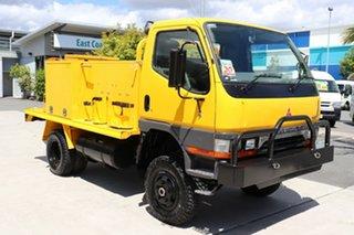 1999 Mitsubishi Canter Yellow Manual Firetruck.