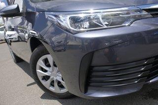 2018 Toyota Corolla ZRE172R Ascent S-CVT Graphite 7 Speed Constant Variable Sedan.