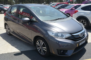 2014 Honda Jazz GF MY15 VTi-S Grey 1 Speed Constant Variable Hatchback.