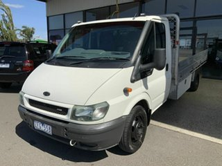 2005 Ford Transit VJ White 6 Speed Manual Single Cab Cab Chassis