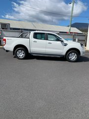 2016 Ford Ranger PX MkII XLT Double Cab 4x2 Hi-Rider White 6 Speed Manual Utility.