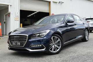 2017 Hyundai Genesis DH Blue 8 Speed Sports Automatic Sedan.