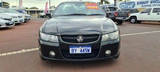 2005 Holden Ute VZ SS Z Black 4 Speed Automatic Utility.