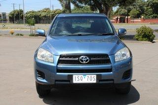 2010 Toyota RAV4 ACA38R CV (2WD) Blue 5 Speed Manual Wagon.