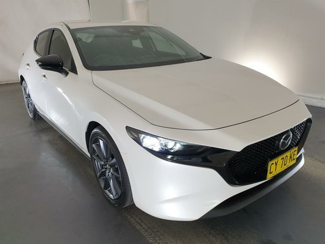 Used Mazda 3 BP2H7A G20 SKYACTIV-Drive Evolve Maryville, 2019 Mazda 3 BP2H7A G20 SKYACTIV-Drive Evolve White 6 Speed Sports Automatic Hatchback