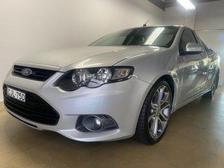 2012 Ford Falcon FG Upgrade XR6 Limited Edition Silver 6 Speed Auto Seq Sportshift Utility