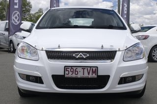 2013 Chery J3 M1X MY13 Chery White/matching 7 Speed Constant Variable Hatchback