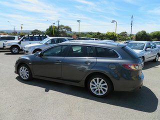 2010 Mazda 6 GH MY10 Classic Silver 5 Speed Auto Activematic Wagon