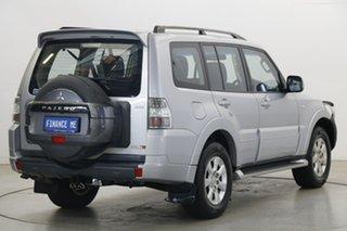 2014 Mitsubishi Pajero NW MY14 GLX-R Cool Silver 5 Speed Sports Automatic Wagon